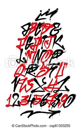 Alphabet Wildstyle Modern Graffiti Graffiti Letters