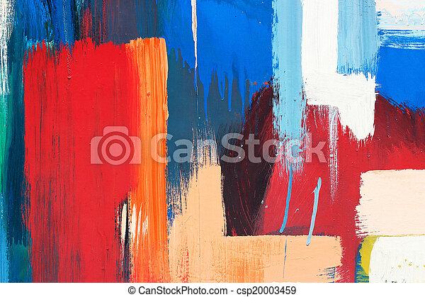 Graffiti background - csp20003459