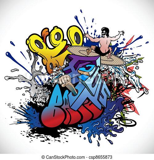 Graffiti - csp8655873