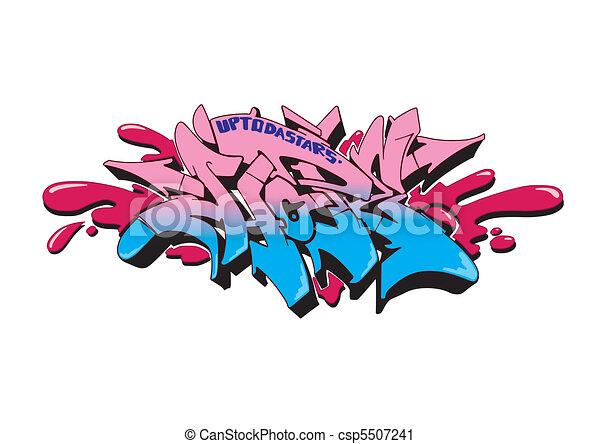 Graffiti Hope - csp5507241