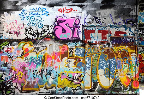 graffiti - csp6710749