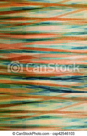 graficzny, abstrakcyjny, -, projektować, tło, textured, pasiasty - csp42546103