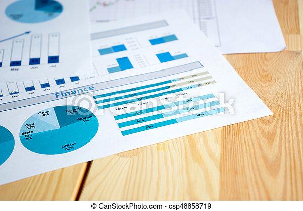 grafieken, diagrammen - csp48858719