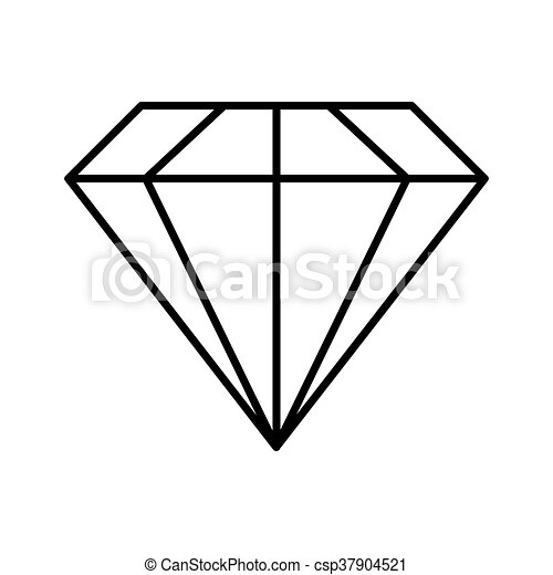 grafik diamant gestalt vektor icon edelstein design. Black Bedroom Furniture Sets. Home Design Ideas