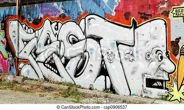 Palabra de grafiti - csp0906537