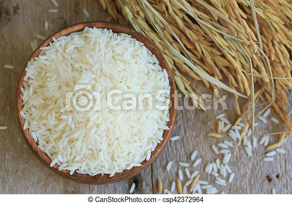 grain rice - csp42372964