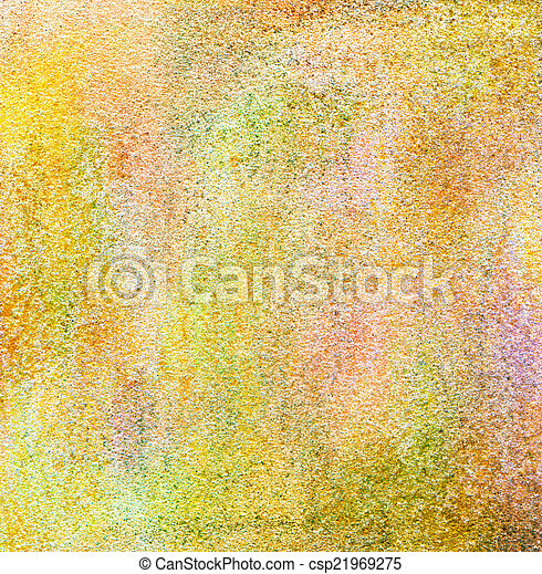 Grain textured. Abstract acrylic hand painted background. - csp21969275