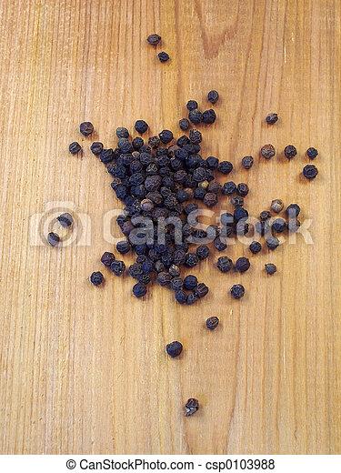 grains poivre noirs - csp0103988