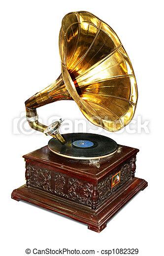 gramófono - csp1082329