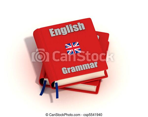 grammaire, anglaise - csp5541940