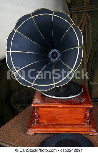 Gramophone - csp0242891