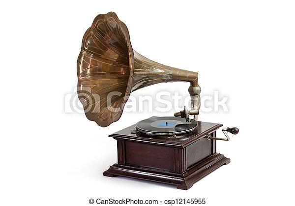 Gramophone - csp12145955