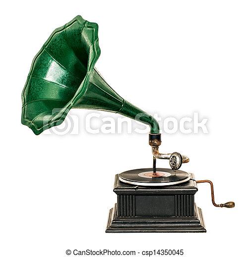 Gramophone - csp14350045