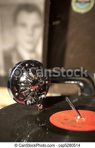 gramophone - csp5280514
