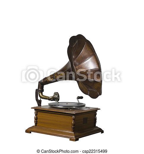 Gramophone - csp22315499