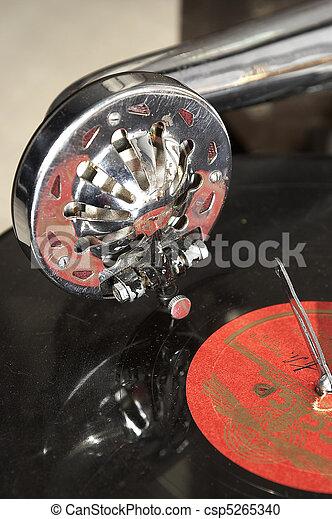 gramophone - csp5265340