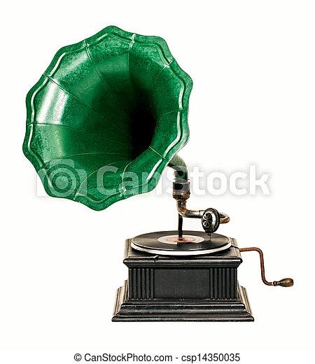 Gramophone - csp14350035