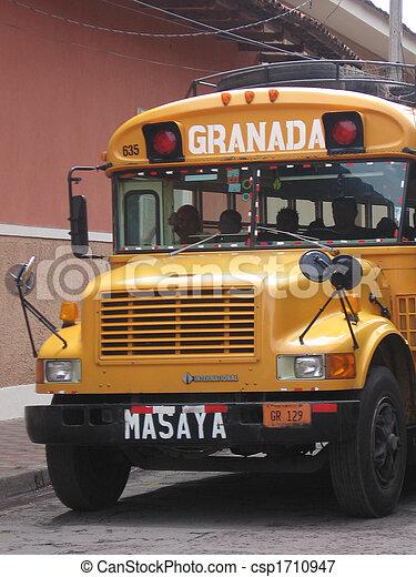 Granada Bus - csp1710947