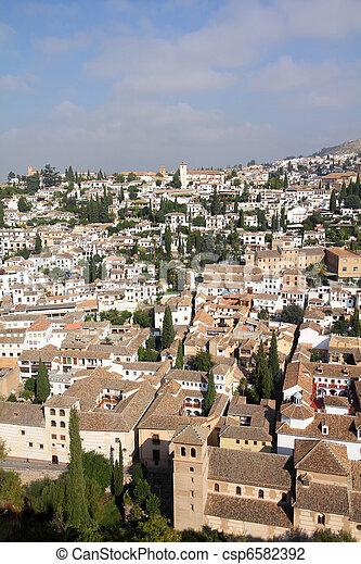 Granada, Spain - csp6582392