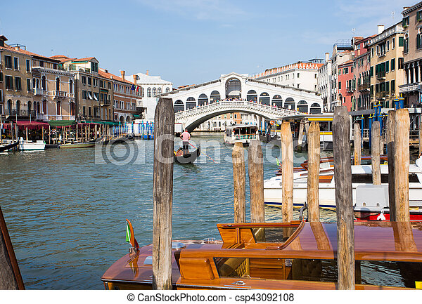 Grand Canal at Venice - csp43092108
