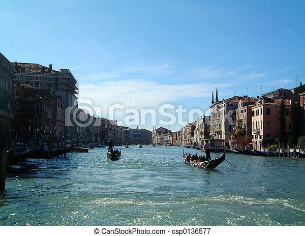 Grand Canal Venice - csp0136577