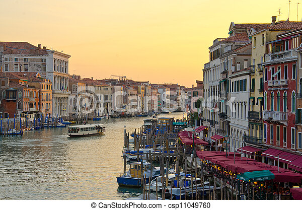 Grand Canal, Venice - csp11049760