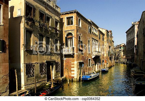 Grand Canal, Venice - csp0064352