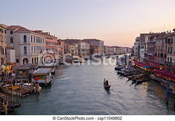 Grand Canal, Venice - csp11049802