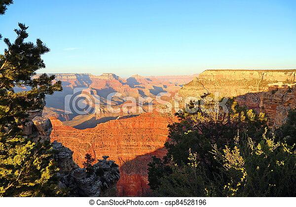 Grand Canyon in Arizona - csp84528196