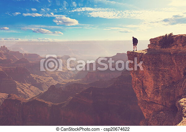 Grand canyon - csp20674622