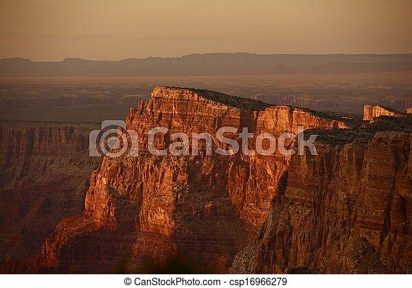 Grand Canyon Sunset - csp16966279