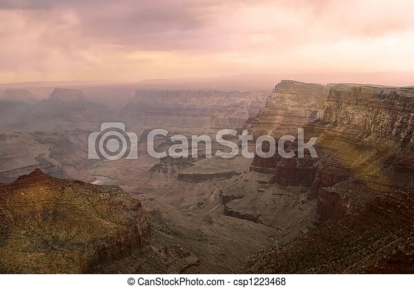 Grand Canyon Sunset - csp1223468