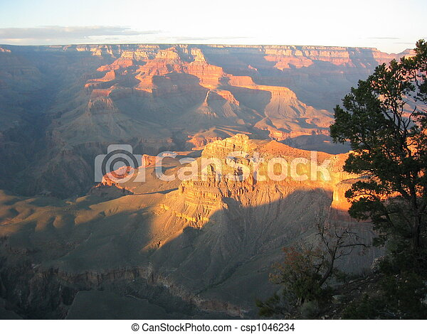 Grand Canyon Sunset - csp1046234
