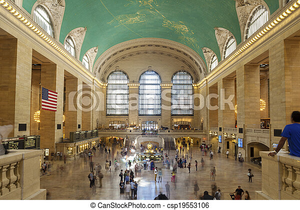 Grand Central Station, NYC - csp19553106