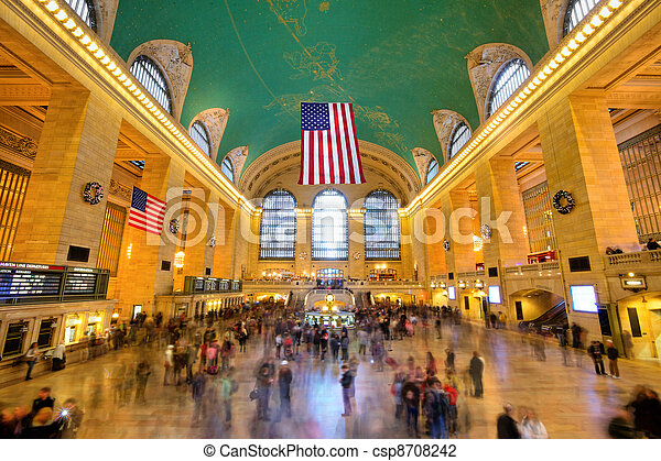Grand Central - csp8708242