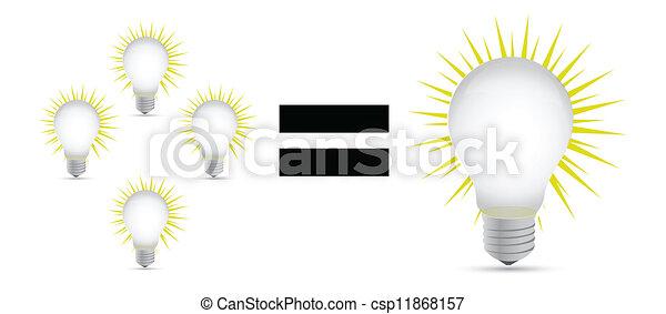 grand, concept, idée - csp11868157