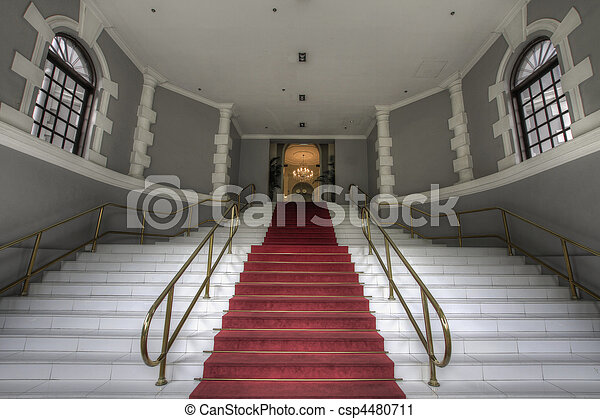 Grand Entrance Staircase - csp4480711