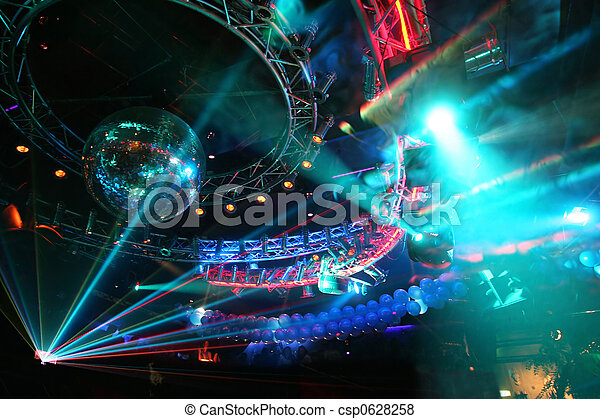 grand, fête, disco - csp0628258