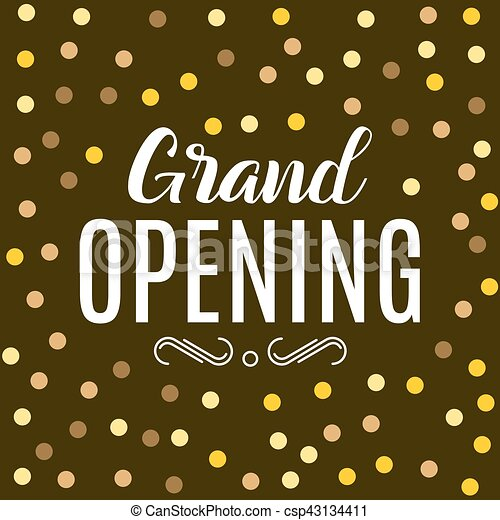 Grand opening ceremony gold background golden dust particles design grand opening ceremony gold background golden dust particles design poster m4hsunfo
