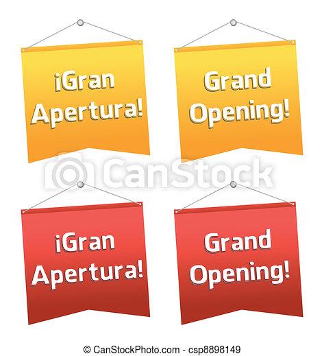 grand opening - csp8898149