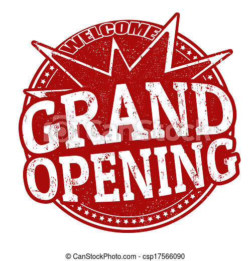 Grand Opening stamp - csp17566090