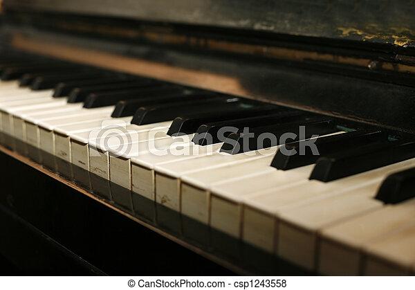 Grand piano - csp1243558