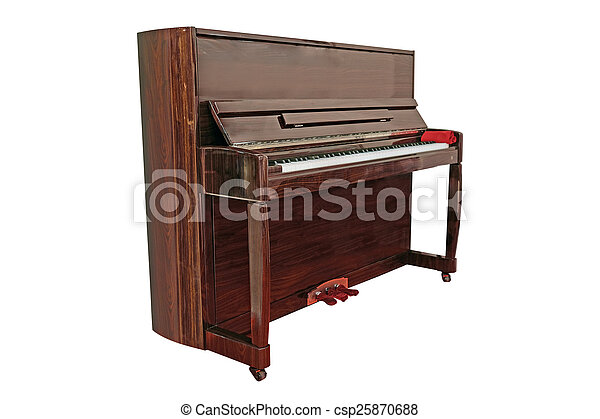 The image of a grand piano under the white background pictures ...
