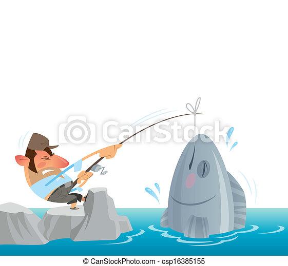 Grand poisson attraper p cheur mer retirer obtenir - Grand poisson de mer ...