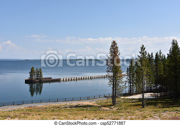 Grand Teton National Park in Wyoming - csp52771887