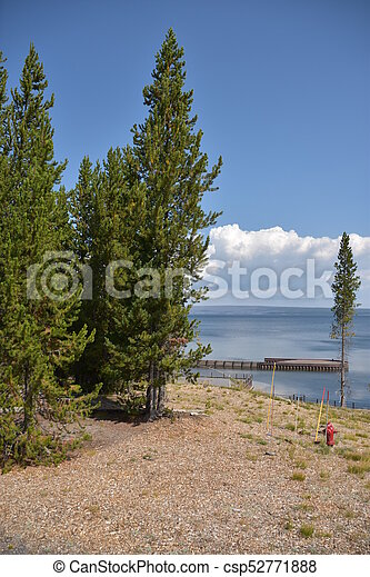 Grand Teton National Park in Wyoming - csp52771888