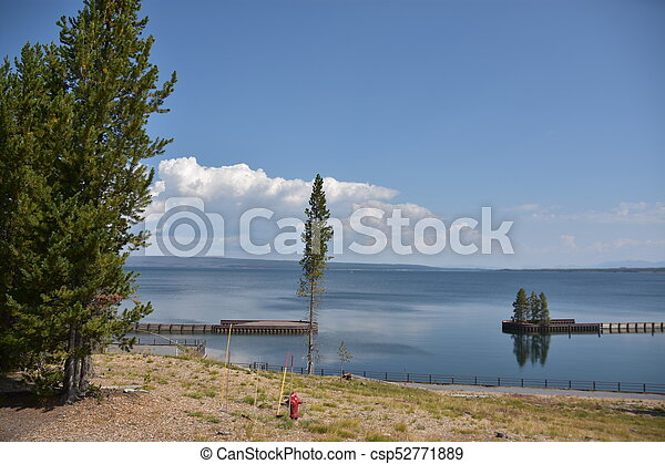 Grand Teton National Park in Wyoming - csp52771889