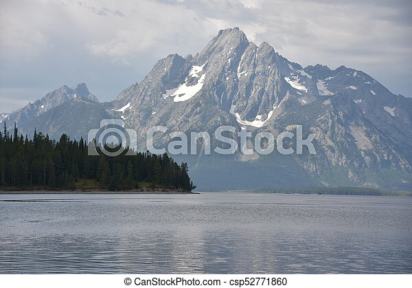 Grand Teton National Park in Wyoming - csp52771860