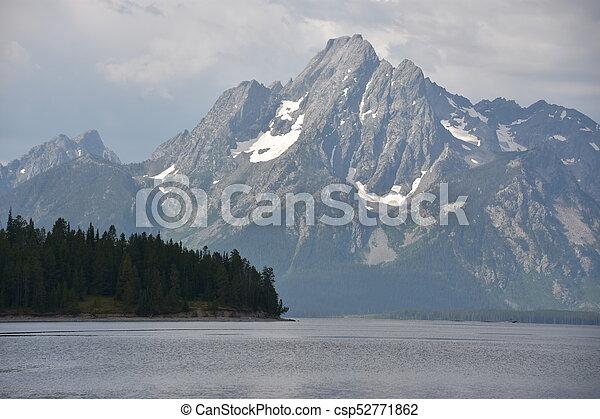 Grand Teton National Park in Wyoming - csp52771862