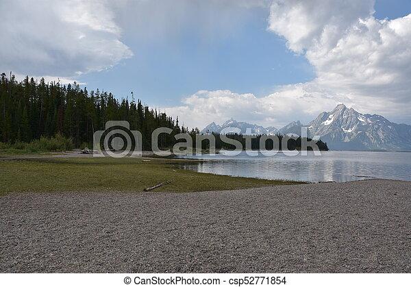 Grand Teton National Park in Wyoming - csp52771854